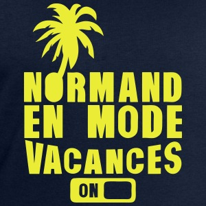 normand en mode vacance palmier on Manches longues - Sweat-shirt Homme Stanley & Stella