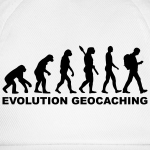 Evolution Geocaching T-Shirts - Baseballkappe