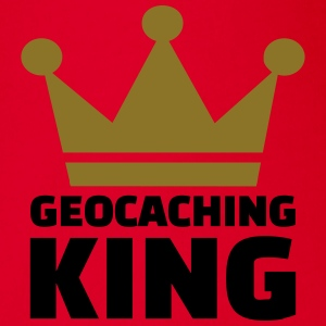 Geocaching King T-Shirts - Baby Bio-Kurzarm-Body