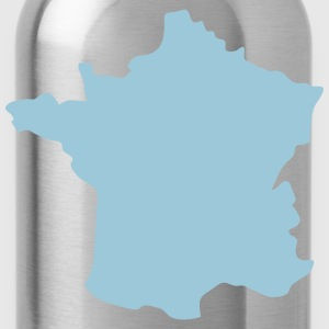 France map 18 Shirts - Water Bottle
