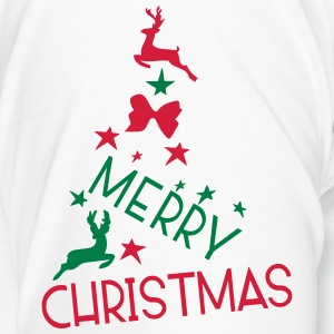 Merry Christmas holidays Contrasting Mug - Men's Premium T-Shirt