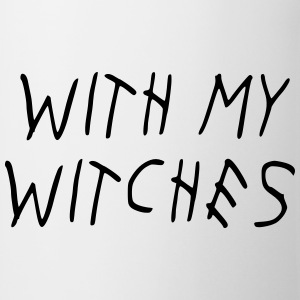 WITH MY WITCHES T-shirts - Mok