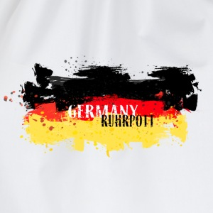 Germany Flag Ruhrpott T-Shirts - Turnbeutel