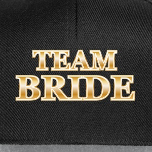 Team Bride Tops - Snapback cap