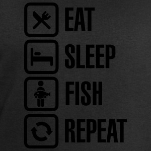 Eat - sleep - fish - repeat T-shirts - Mannen sweatshirt van Stanley & Stella