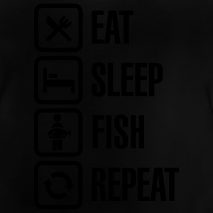 Eat -  sleep - fish - repeat T-Shirts - Baby T-Shirt