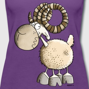 Grappig Aries T-shirts - Vrouwen Premium tank top