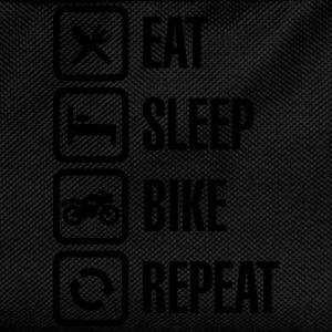 Eat -  sleep - (motor)bike - repeat Pullover & Hoodies - Kinder Rucksack