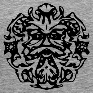 Green Man Pillow - Men's Premium T-Shirt