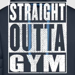 Straight Outta Gym Vintage - Men's Premium Hoodie