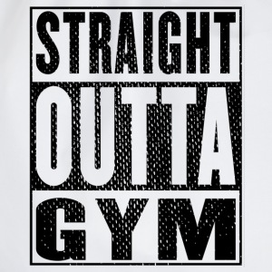 Straight Outta Gym Vintage - Turnbeutel