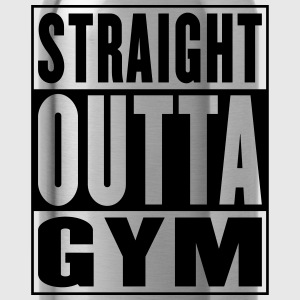 Straight Outta Gym Gold - Drinkfles