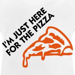 Jeg er bare her for pizza! Sweatshirts - Baby T-shirt