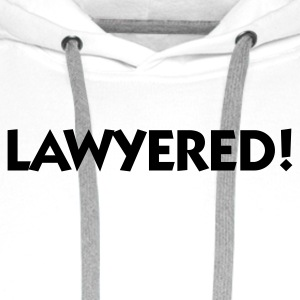 Lawyered! Singlets - Premium hettegenser for menn