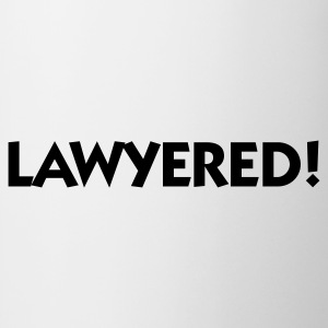 Lawyered! T-skjorter - Kopp