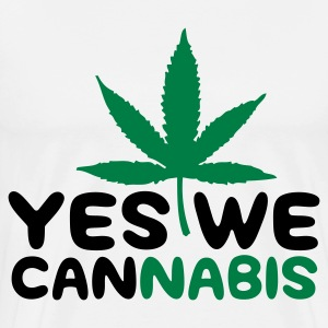 Yes We Cannabis! Forklær - Premium T-skjorte for menn