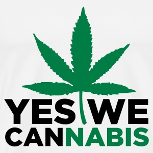 Yes We Cannabis! Tank Tops - Männer Premium T-Shirt