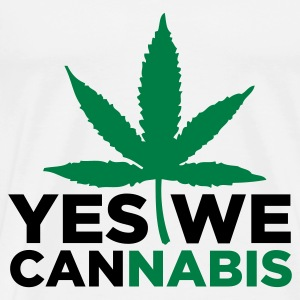 Yes We Cannabis! Sportbekleidung - Männer Premium T-Shirt