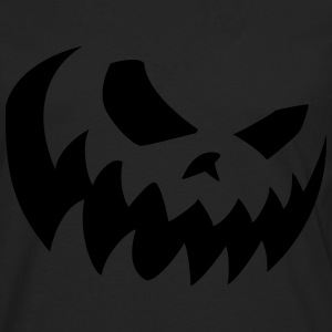 Halloween smile Phosphorescent - T-shirt manches longues Premium Homme