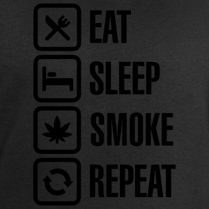 Eat - sleep - smoke - repeat T-shirts - Mannen sweatshirt van Stanley & Stella