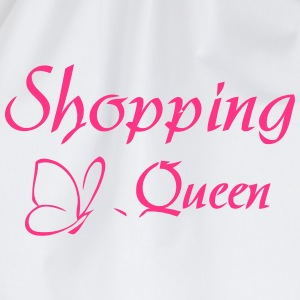 SHOPPING QUEEN Long Sleeve Shirts - Drawstring Bag
