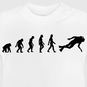 The Evolution of Scuba Diving Long Sleeve Shirts - Baby T-Shirt
