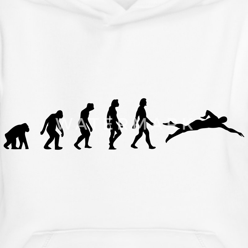 The evolution of swimming Hoodies - Kids' Premium Hoodie