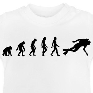The Evolution of Scuba Diving Shirts - Baby T-Shirt