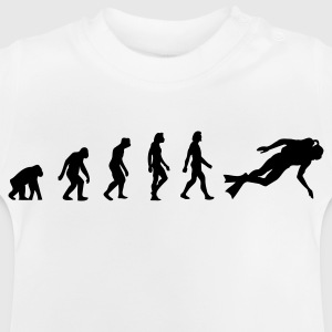 De evolutie van Scuba Diving Shirts - Baby T-shirt
