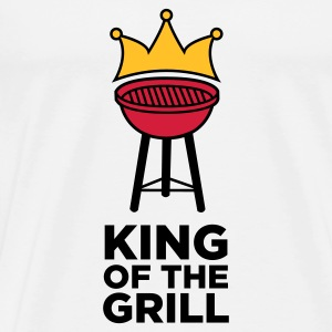 The King of the Grill Tops - Men's Premium T-Shirt