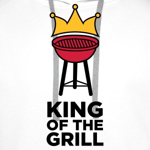 The King of the Grill Topper - Premium hettegenser for menn