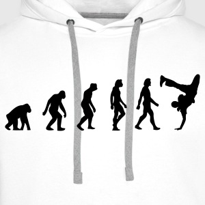 The Evolution of Breakdancing Bags & Backpacks - Men's Premium Hoodie