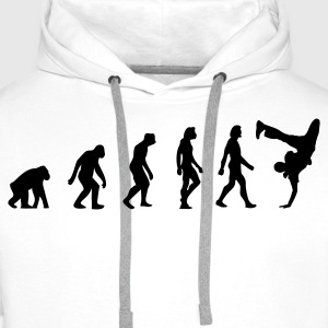 The Evolution of Breakdancing T-Shirts - Men's Premium Hoodie