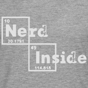 A NERD INSIDE Tee shirts - T-shirt manches longues Premium Homme