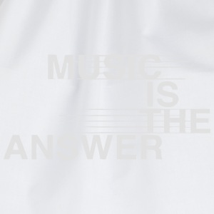 MUSIC IS THE ANSWER Abbigliamento sportivo - Sacca sportiva