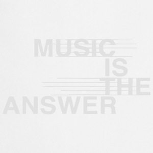 MUSIC IS THE ANSWER Odzież sportowa - Fartuch kuchenny