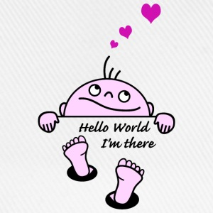 hello world Sweatshirts - Baseballkasket