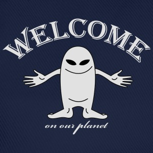 welcome T-shirts - Basebollkeps