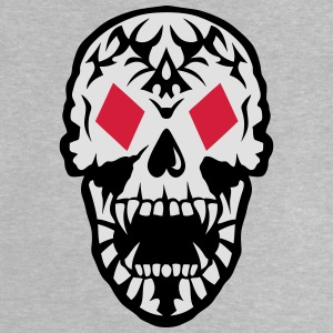 Dead Head Tile Poker Card skull  Shirts - Baby T-Shirt