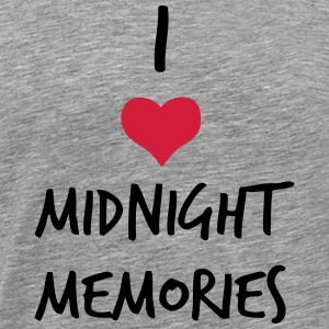 I LOVE MIDNIGHT MEMORIES Long sleeve shirts - Men's Premium T-Shirt