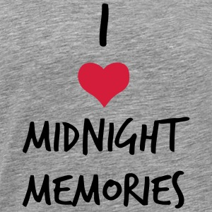 I LOVE MIDNIGHT MEMORIES Manches longues - T-shirt Premium Homme