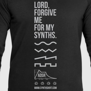 Lord Forgive Me For My Synths T-Shirts - Men's Sweatshirt by Stanley & Stella