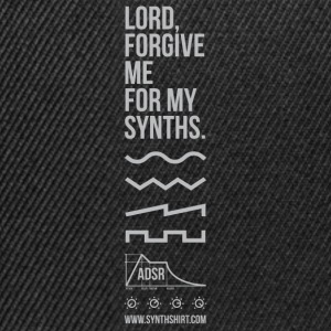 Lord Forgive Me For My Synths Hoodies & Sweatshirts - Snapback Cap