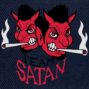 Team satan party venner ryger cigaretrøg pot fælle T-shirts - Snapback Cap