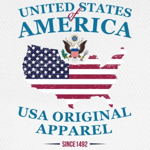 UNITED STATES OF AMERICA T-Shirts - Baseball Cap