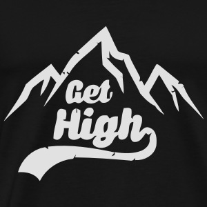 GET HIGH! Sweaters - Mannen Premium T-shirt