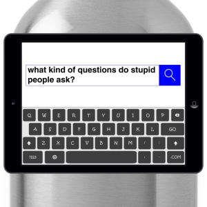 Search - Question T-Shirts - Water Bottle