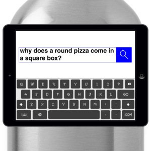 Search - Pizza T-Shirts - Water Bottle