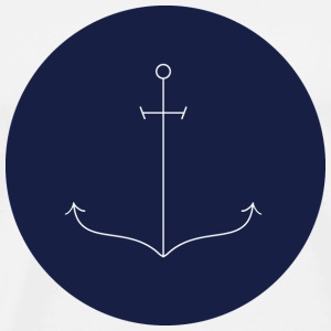 Thin anchor Mugs & Drinkware - Men's Premium T-Shirt