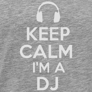 COOL STAY I'M DJ Hoodies & Sweatshirts - Men's Premium T-Shirt